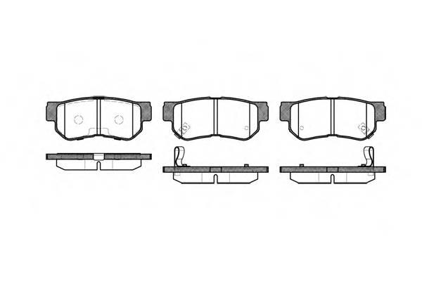 Тормозная система Гальмiвнi колодки, к-кт. PAGID арт. 274612