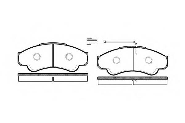 Тормозная система Гальмiвнi колодки, к-кт. PAGID арт. 295901
