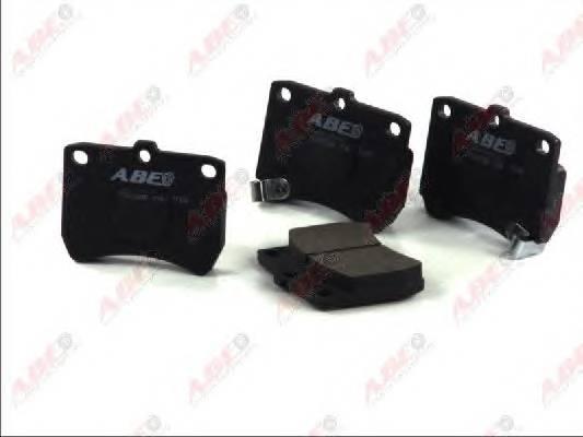Гальмівні колодки, дискові ABE арт. C13032ABE