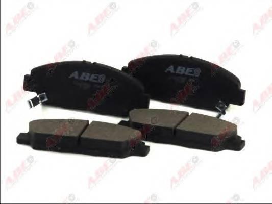 Гальмівні колодки, дискові ABE арт. C14037ABE