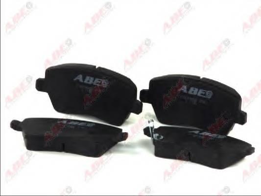 Гальмівні колодки, дискові ABE арт. C18019ABE