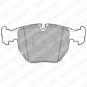 Гальмівні колодки, дискові ABE арт. LP1003