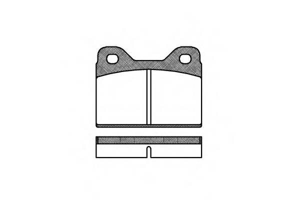 Тормозная система Гальмiвнi колодки, к-кт. PAGID арт. 207300