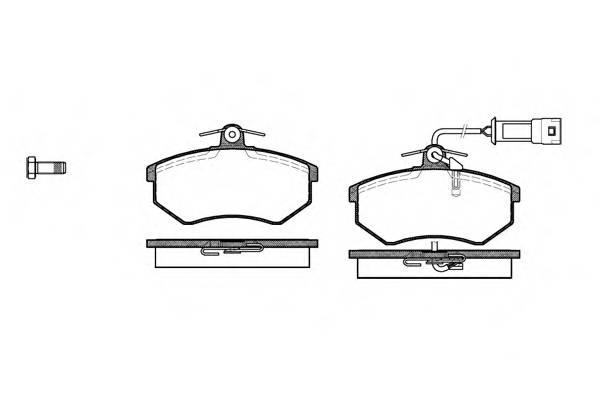 Тормозная система Гальмiвнi колодки, к-кт. PAGID арт. 213402