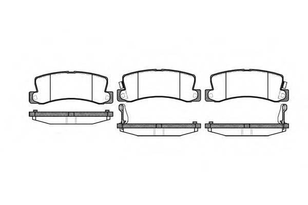 Тормозная система Гальмiвнi колодки, к-кт. PAGID арт. 221422