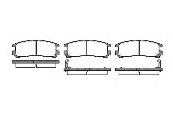 Тормозная система Гальмiвнi колодки, к-кт. PAGID арт. 229102