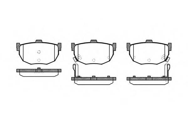 Тормозная система Гальмiвнi колодки, к-кт. PAGID арт. 229412