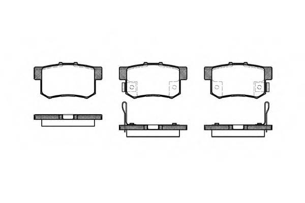 Тормозная система Гальмiвнi колодки, к-кт. PAGID арт. 232512