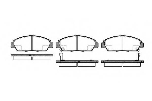 Тормозная система Гальмiвнi колодки, к-кт. PAGID арт. 240602