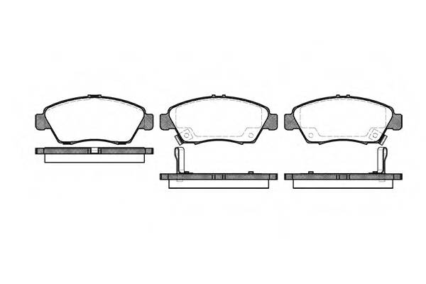 Тормозная система Гальмiвнi колодки, к-кт. ABE арт. 241802