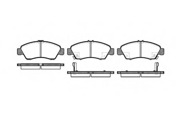 Тормозная система Гальмiвнi колодки, к-кт. PAGID арт. 241902