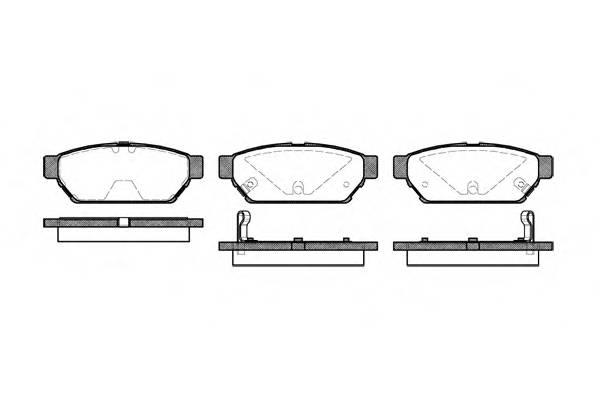 Тормозная система Гальмiвнi колодки, к-кт. PAGID арт. 244002