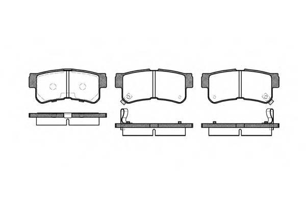 Тормозная система Гальмiвнi колодки, к-кт. PAGID арт. 274622