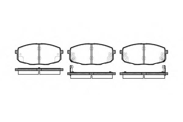 Тормозная система Гальмiвнi колодки, к-кт. ABE арт. 2103802