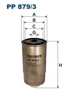Фильтр топливный Iveco 2000>06 2,8/3,0 под датчик FILTRON PP8793