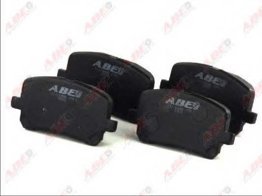 Гальмівні колодки, дискові ABE арт. C12102ABE