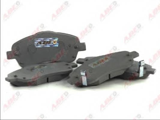 Гальмівні колодки, дискові ABE арт. C12106ABE
