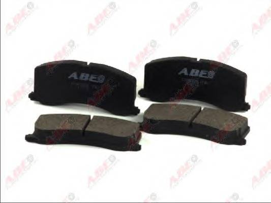 Гальмівні колодки, дискові ABE арт. C18000ABE