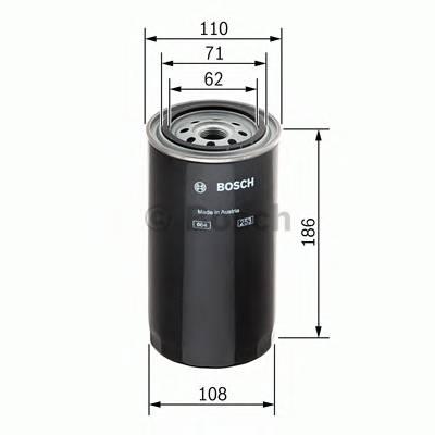 Топливные фильтры Топливный фильтр диз BOSCH арт. 1457429681