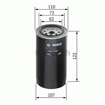 Топливные фильтры Топливный фильтр диз BOSCH арт. 1457434205
