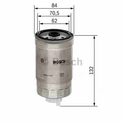 Топливные фильтры Топливный фильтр диз BOSCH арт. 1457434436