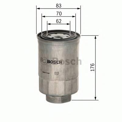Топливные фильтры Топливный фильтр BOSCH арт. F026402071