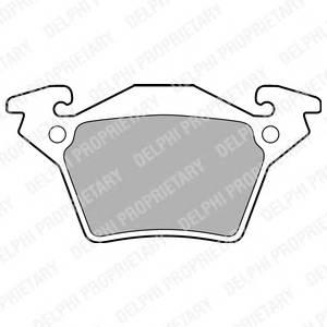 Гальмівні колодки, дискові PAGID арт. LP1471
