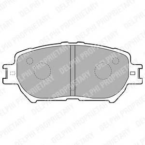 Гальмівні колодки, дискові ABE арт. LP1738