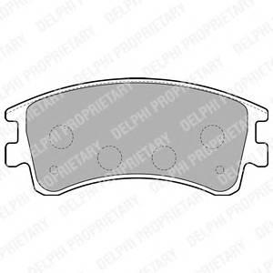 Гальмівні колодки, дискові ABE арт. LP1799