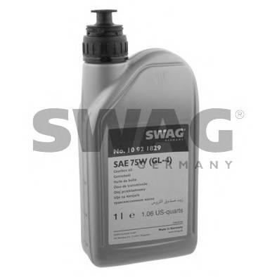 Трансмиссионное масло (GL-4) (желтое) 1L SWAG 10921829