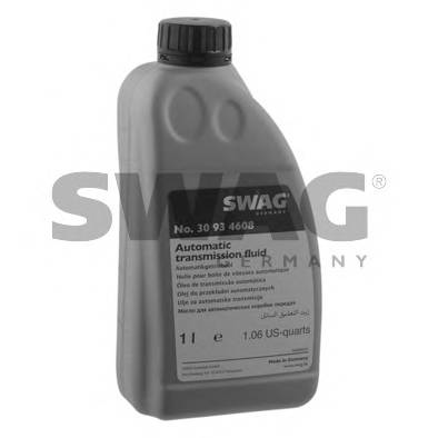 Автотрансмиссионное масло (ATF) (желтое) 1L SWAG 30934608