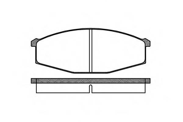 Тормозная система Гальмiвнi колодки, к-кт. PAGID арт. 212900