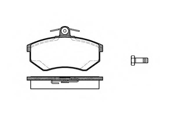 Тормозная система Гальмiвнi колодки, к-кт. PAGID арт. 213420