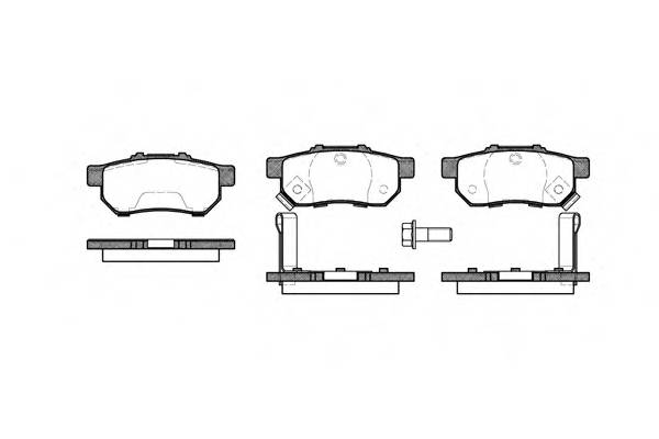 Тормозная система Гальмiвнi колодки, к-кт. PAGID арт. 223352
