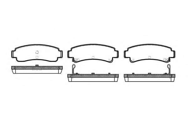 Тормозная система Гальмiвнi колодки, к-кт. PAGID арт. 230202