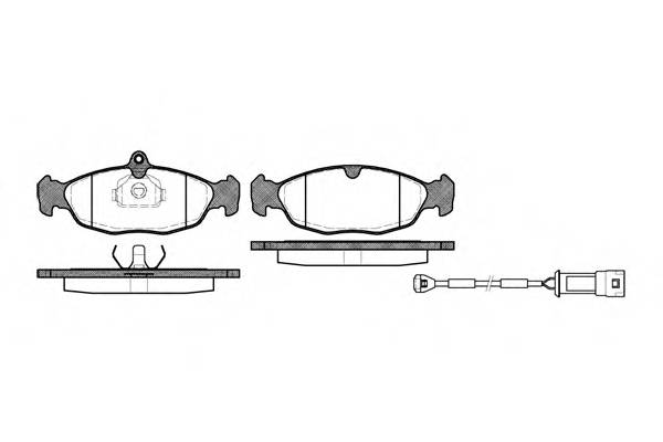 Тормозная система Гальмiвнi колодки, к-кт. PAGID арт. 239302