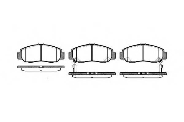 Тормозная система Гальмiвнi колодки, к-кт. ABE арт. 274712