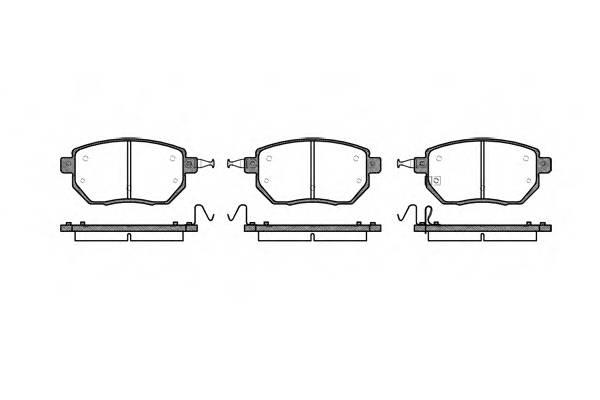 Тормозная система Гальмiвнi колодки, к-кт. ABE арт. 298502