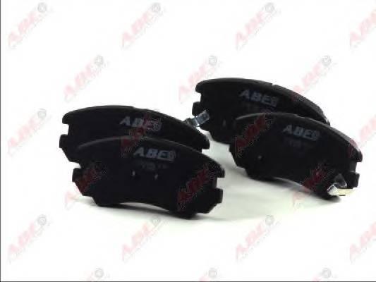 Гальмівні колодки, дискові ABE арт. C10518ABE