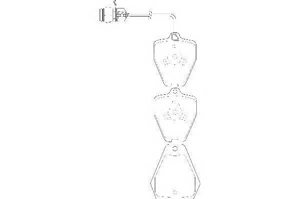 Тормозные колодки Тормозные колодки Wagner PAGID арт. WBP21452A