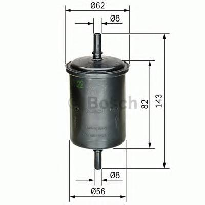 Топливная система Фільтр палива MEYLE арт. 0450902161
