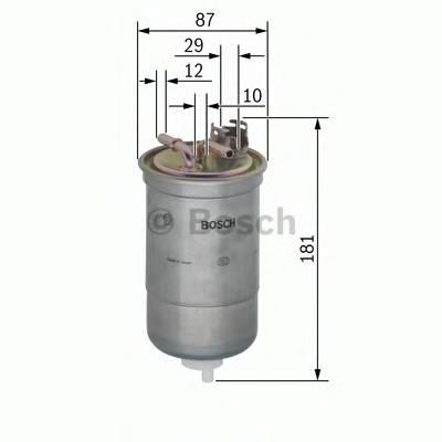 Топливные фильтры Топливный фильтр диз BOSCH арт. 0450906453