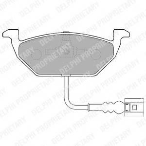 Гальмівні колодки, дискові PAGID арт. LP1514