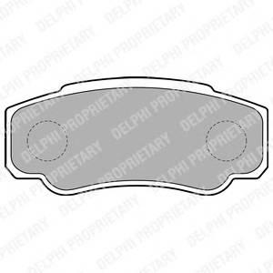 Гальмівні колодки, дискові PAGID арт. LP1790