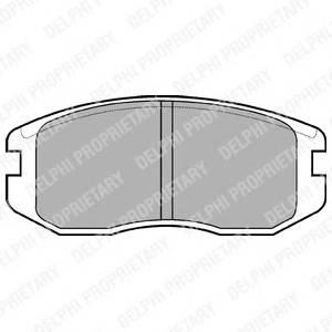 Гальмівні колодки, дискові PAGID арт. LP736
