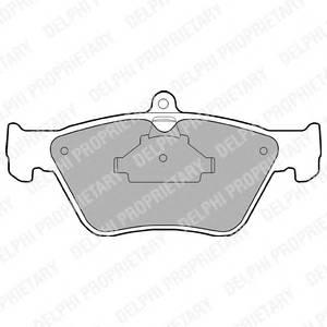Гальмівні колодки, дискові PAGID арт. LP873