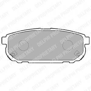 Гальмівні колодки, дискові PAGID арт. LP1850