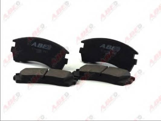 Гальмівні колодки, дискові ABE арт. C11049ABE