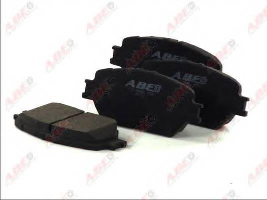 Гальмівні колодки, дискові ABE арт. C12104ABE
