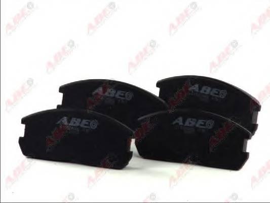 Гальмівні колодки, дискові ABE арт. C15024ABE